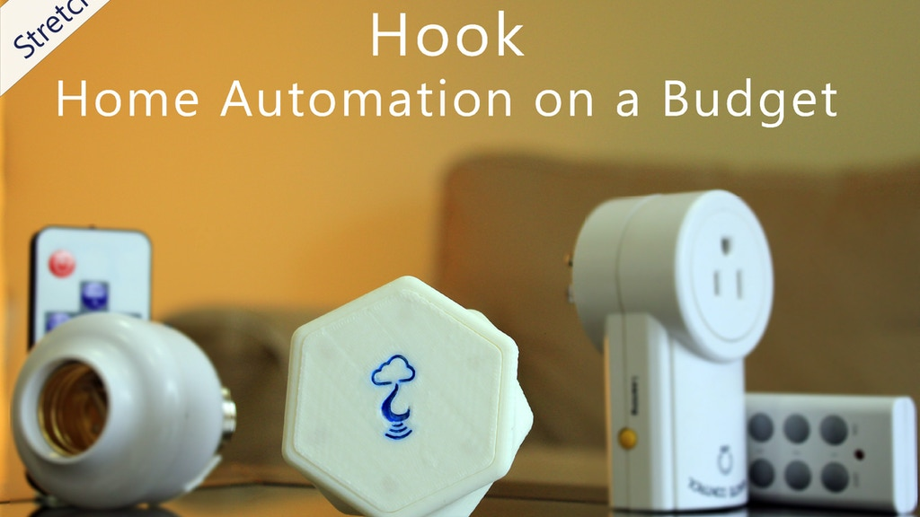 Hook: Home Automation on a Budget project video thumbnail