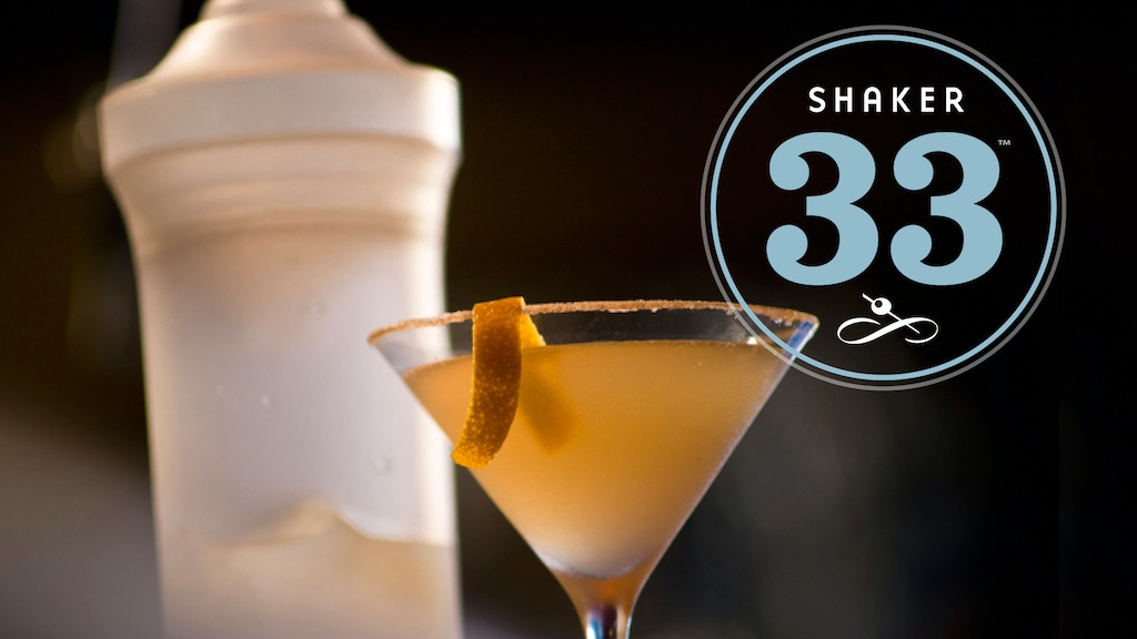 Shaker33 - The Best Cocktail Shaker Since Prohibition project video thumbnail