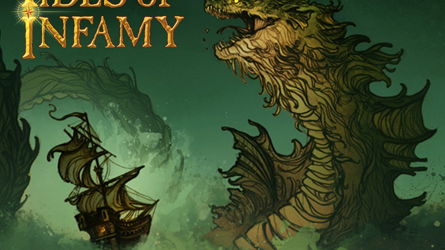 Tides of Infamy is a high seas adventure where you battle for infamy against enemy pirates, sea monsters, the elements and pirate luck.