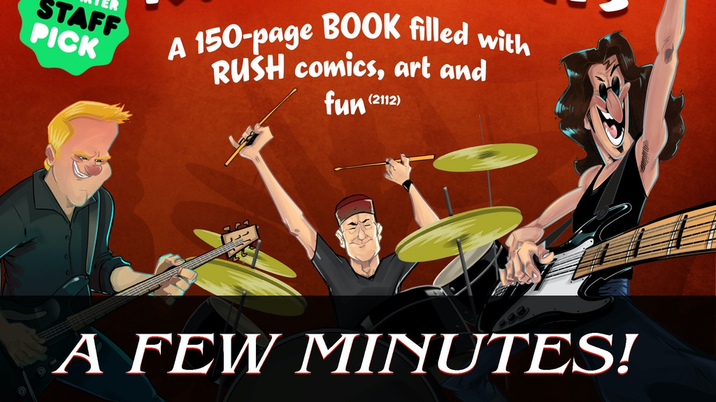 RUSH Toons by Fantoons. Volume 2112 project video thumbnail