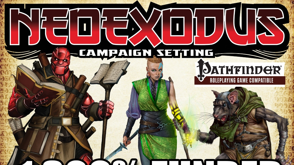 NeoExodus Campaign Setting Update for Pathfinder RPG project video thumbnail