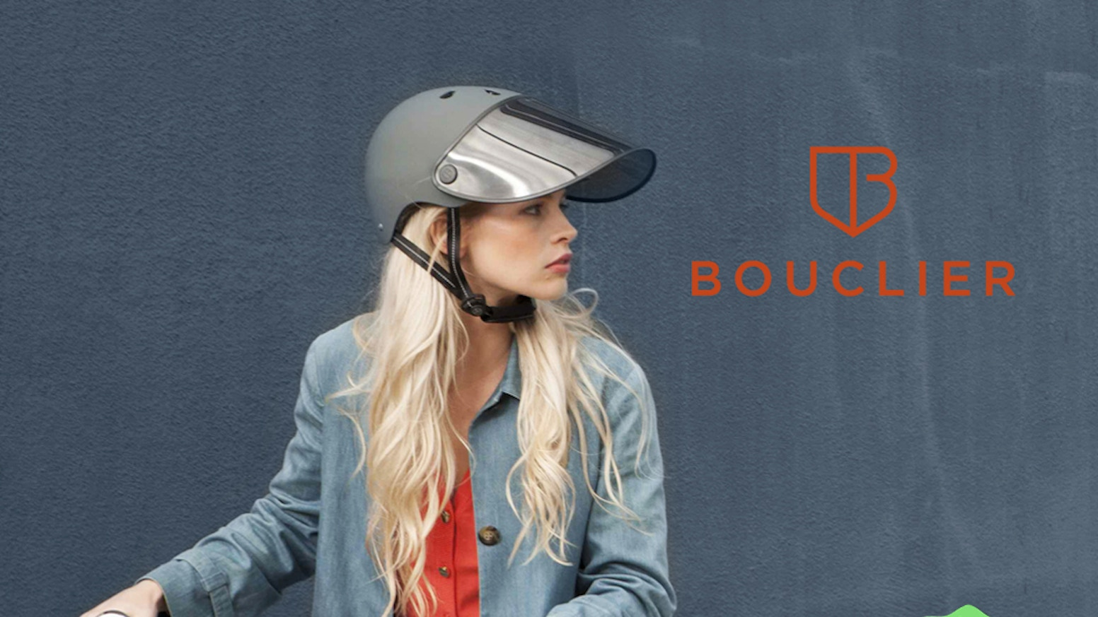 The first bike helmet-mounted visor that shades your entire face: 98% UV blocking, detachable and easy to install. Sun-safe biking!