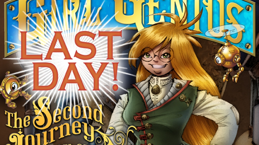 Girl Genius Graphic Novel: a New Journey Begins! project video thumbnail