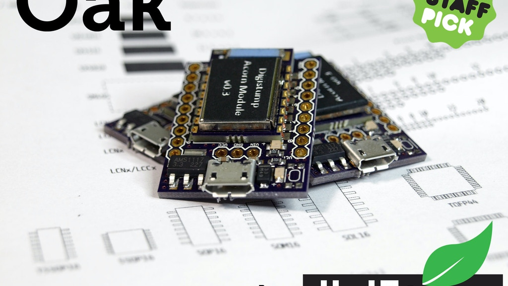 Oak by Digistump: Wi-Fi for all things! (Arduino Compatible) project video thumbnail