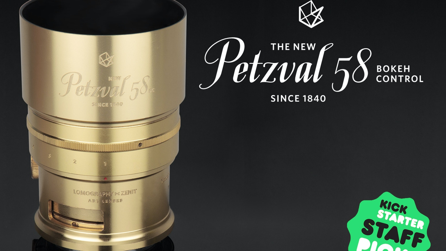 Swirl to Freedom with the World's First Petzval Bokeh Control Lens.
