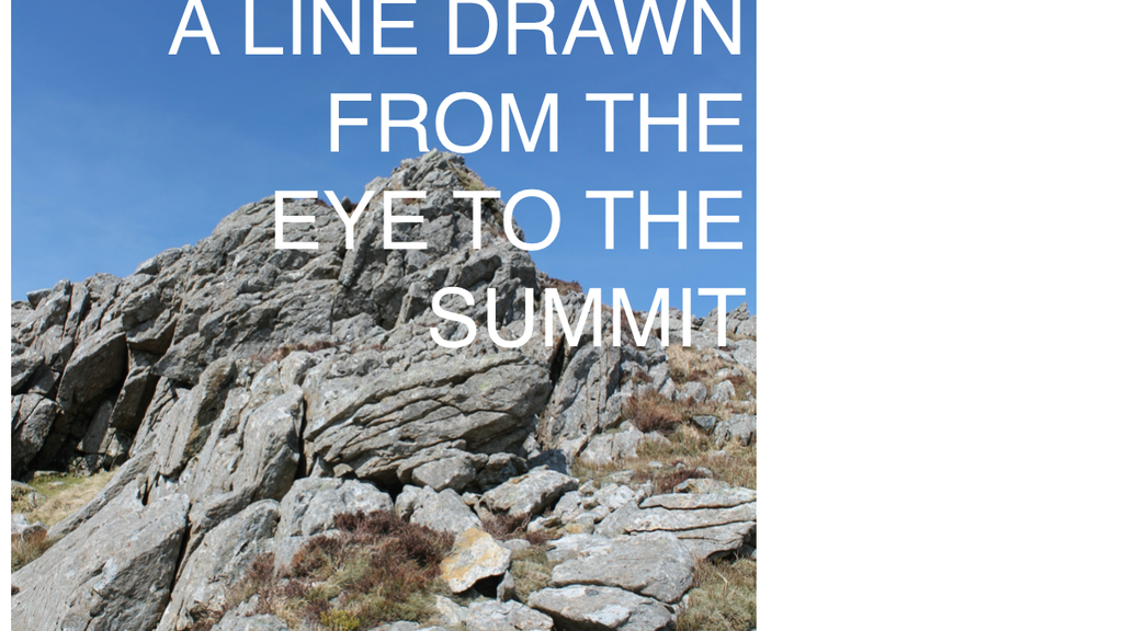 A Line Drawn from the Eye to the Summit project video thumbnail