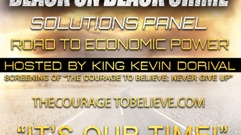 Black On Black Crime Solutions Campaign project video thumbnail