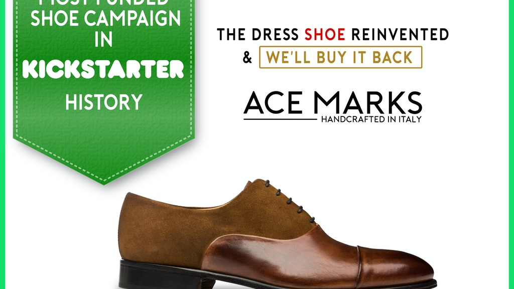 dcc428f5140 Artisan Dress Shoes Reinvented for the Modern Gentleman project video  thumbnail