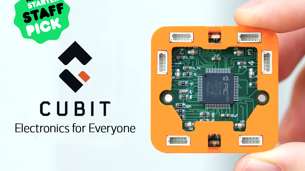 Cubit - Making Electronics Accessible project video thumbnail