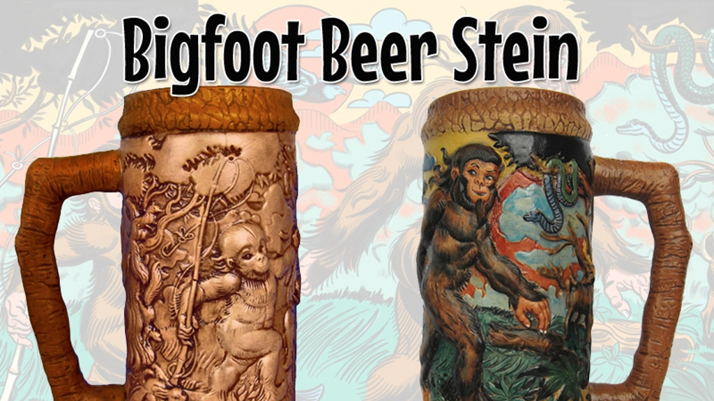 """Number 1 Bigfoot"" Beer Stein project video thumbnail"