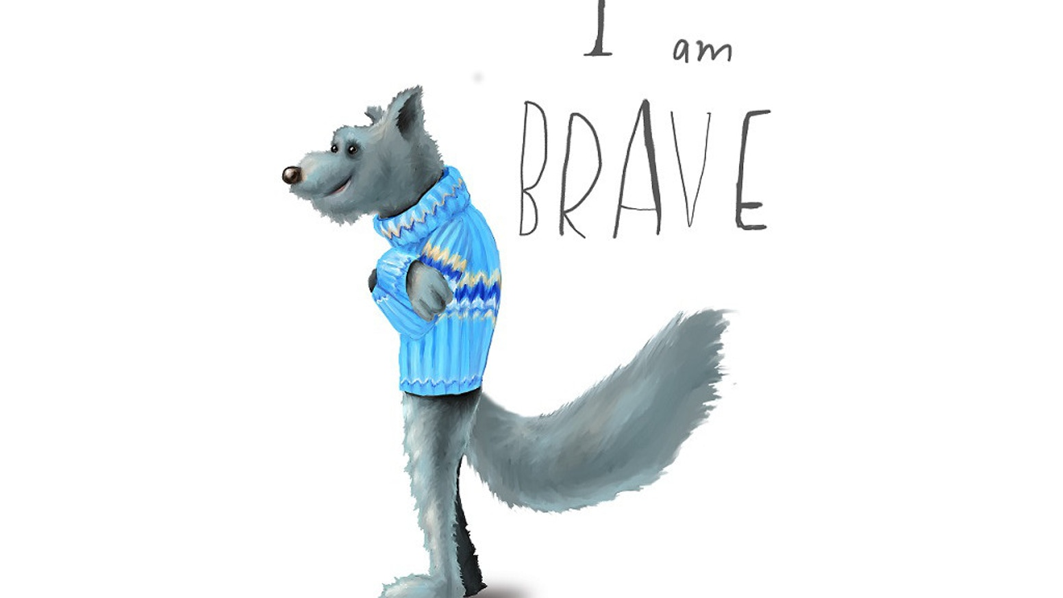 Thank you for helping us to raise funds to build a basic application to give children access to the 'Feel Brave' characters and their stories and poems!