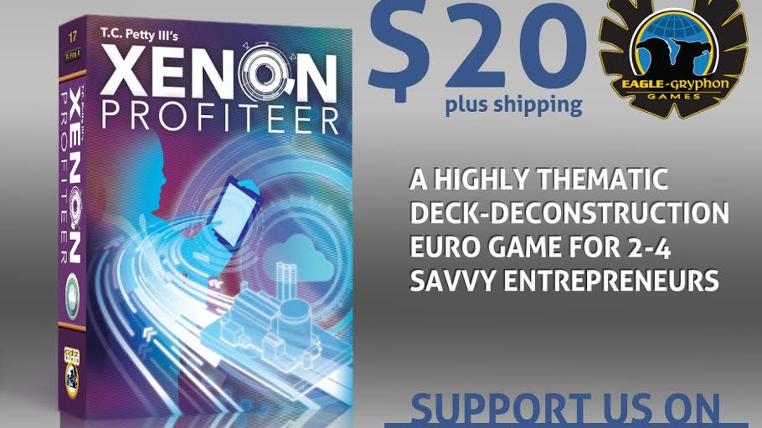 In Xenon Profiteer, you use your entrepreneurial spirit and an Air Separation facility to isolate valuable Xenon and make a profit.