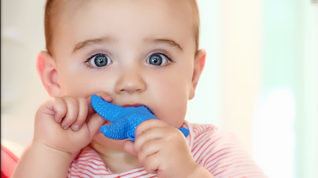 WowieStar -USA Certified Medical Grade teething baby teether project video thumbnail