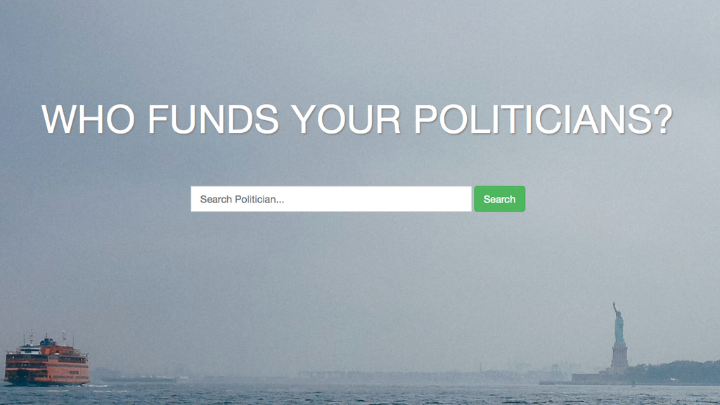 Explore Campaign Finance project video thumbnail