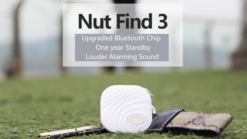 Nut Find 3: The Best Designed Smart Tracker in the world. project video thumbnail
