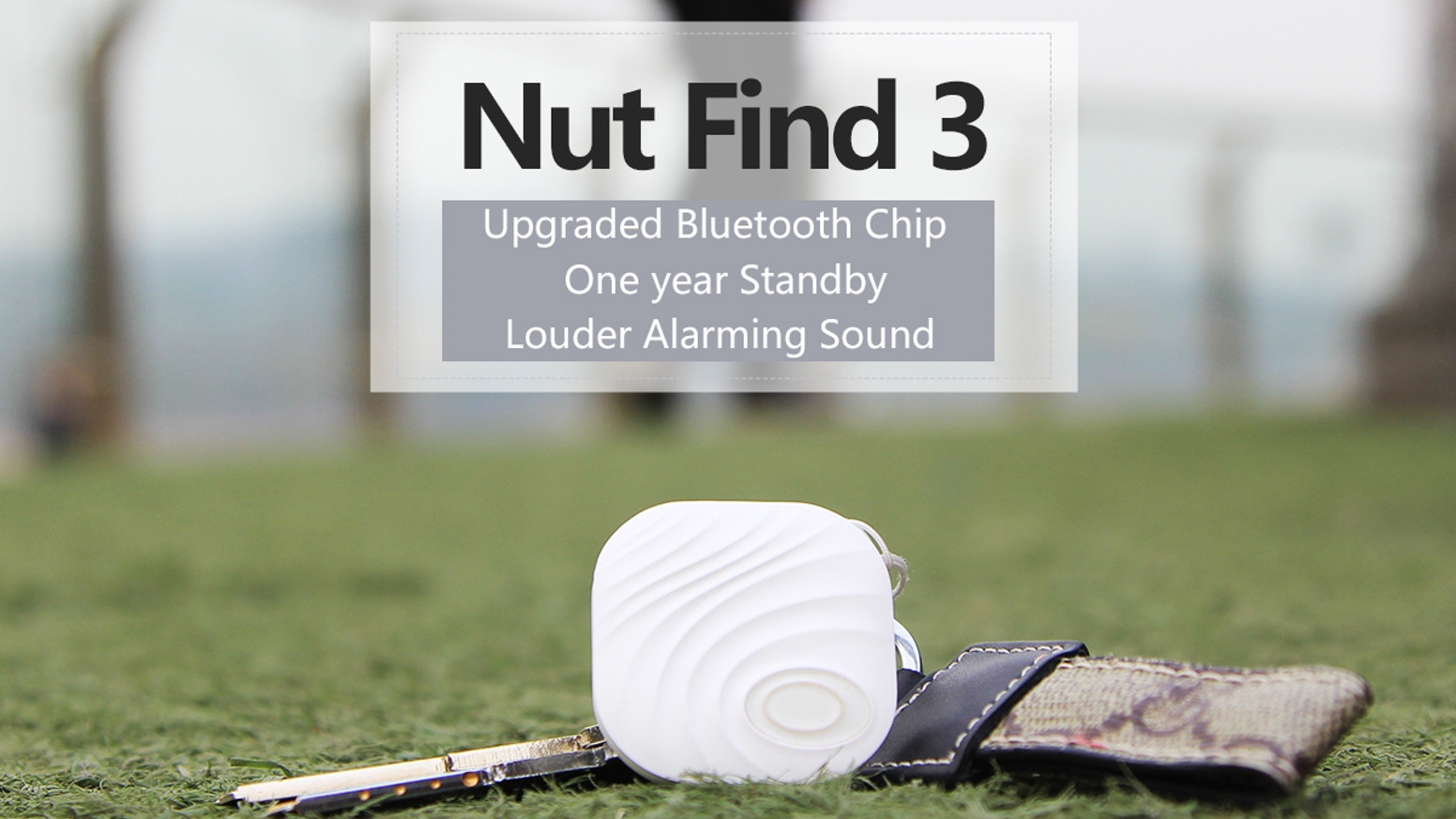 Have you ever lost your keys, wallet, smartphone.. and your mind in the process? With NutFind3, you won't! Piece of Nut. Peace of Mind.