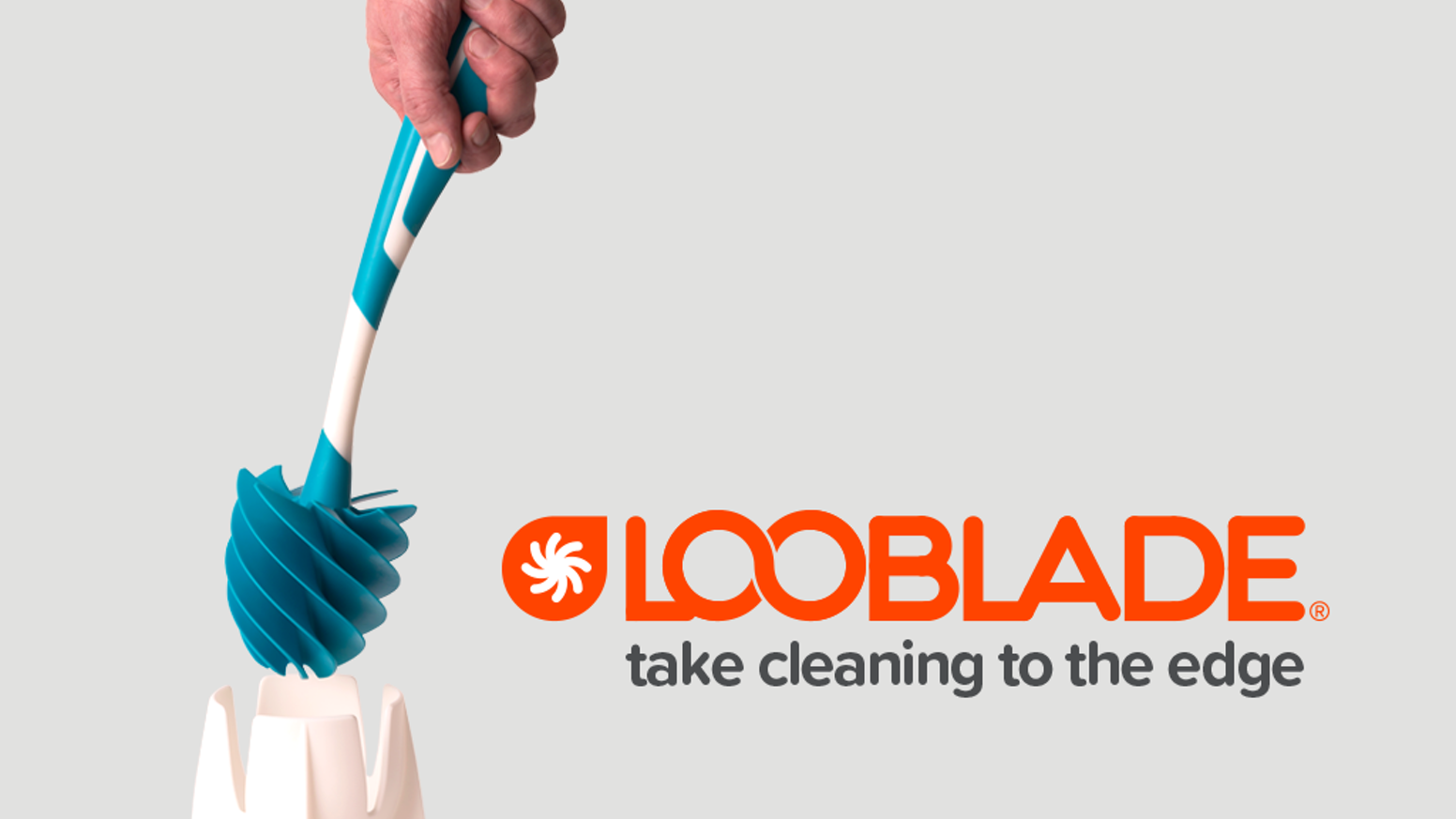 Drip-free. Clog-free. Germ-free. Swipe your toilets clean with LooBlade's patented, hygienic, quick-drying, anti-microbial design. In Stock Now