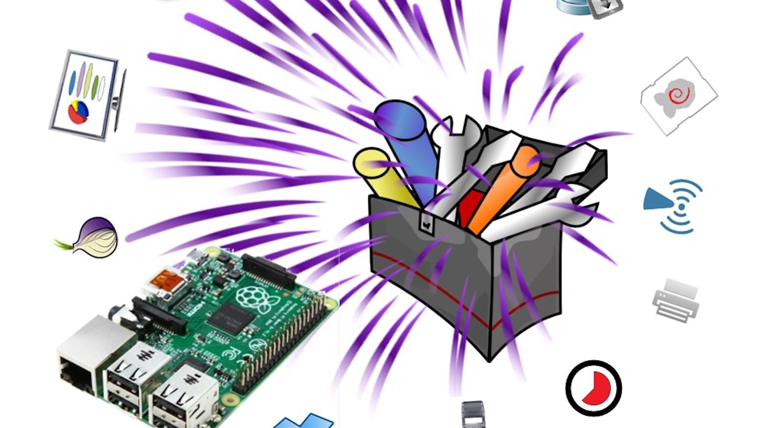RasPiToolBox - Raspberry Pi Project Tool Box by RaspiShop