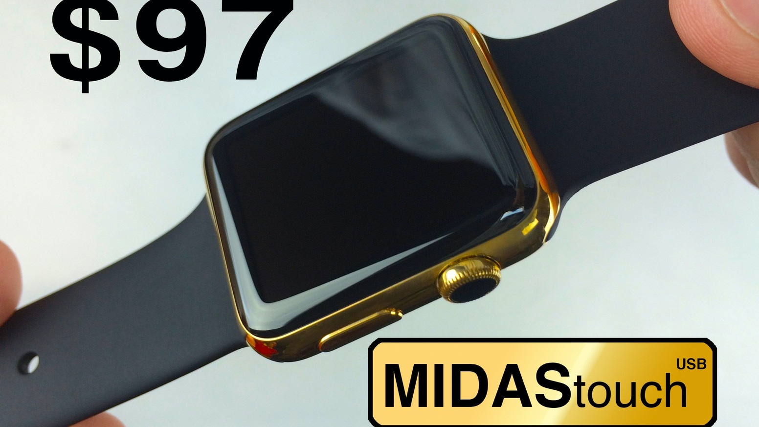 24K real gold plating of steel smart devices, watches, jewelry. Easily turn your watch to gold yourself with our gold plating kit.