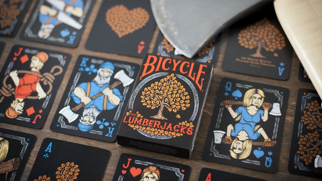 Project image for Bicycle® The Lumberjacks 2nd Edition Playing Cards