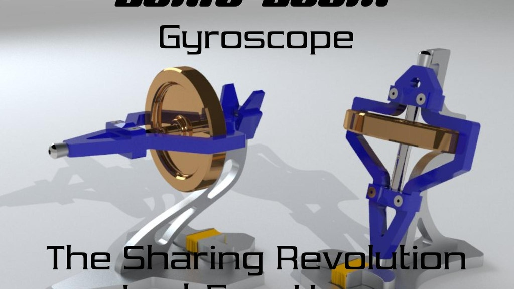The Sonic Boom Gyroscope: High precision toy! project video thumbnail