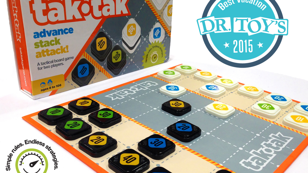 tak•tak - The Next Big Strategy Board Game project video thumbnail