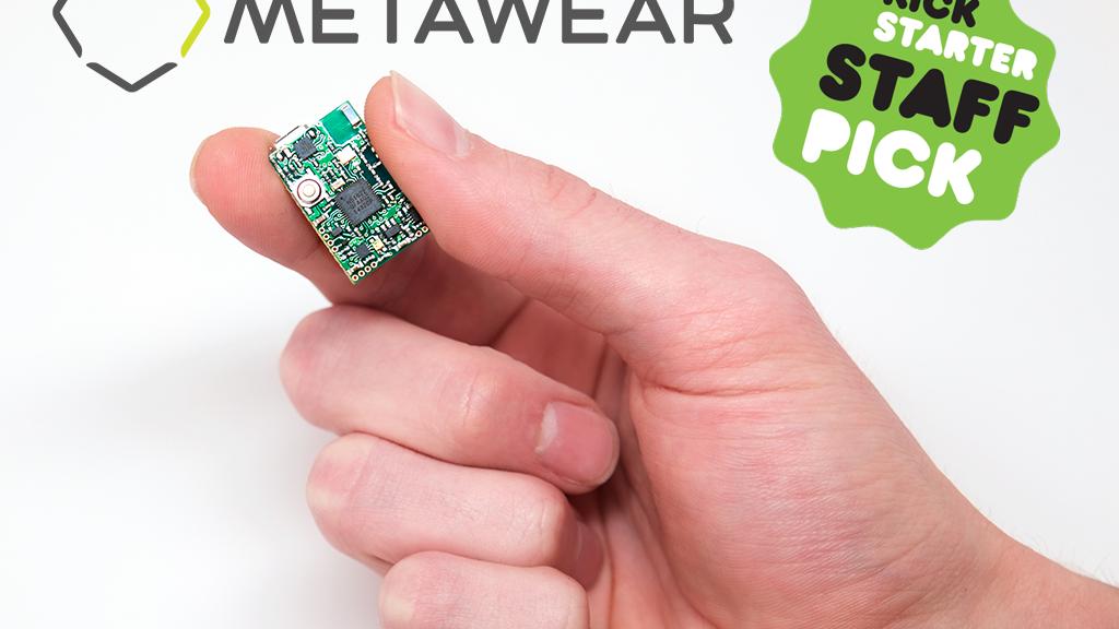 MetaWear: Bluetooth Sensors w/ Temp + Pressure + Acc + Gyro project video thumbnail