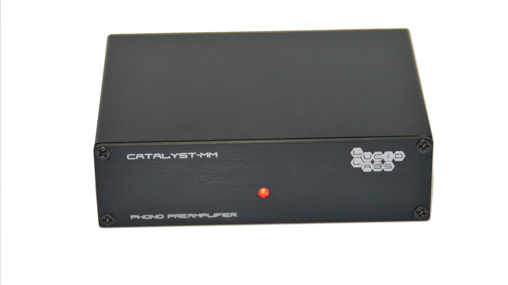 Catalyst Phono Preamplifier project video thumbnail
