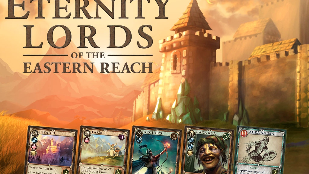 Pillars of Eternity: Lords of the Eastern Reach Card Game by