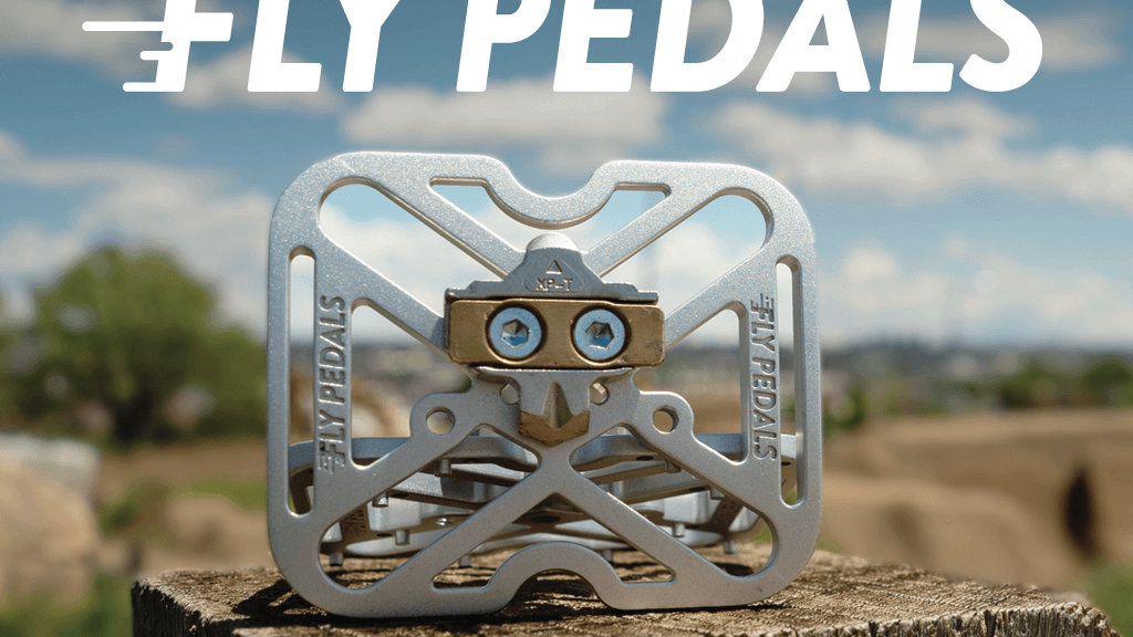 Fly Pedals V2 : Universal Clipless Bike Pedal Adapters project video thumbnail