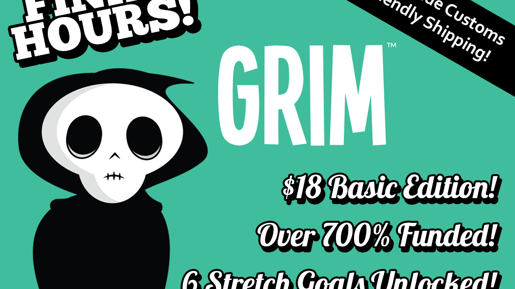 "GRIM - A ""Roll For Your Life!"" Dice Game project video thumbnail"