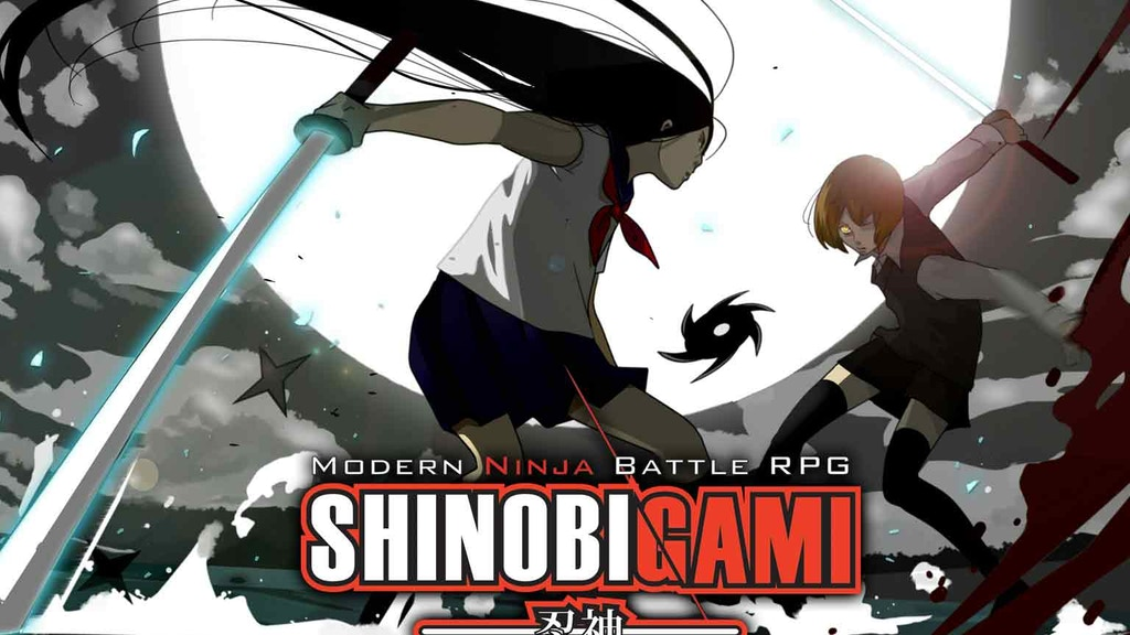 Shinobigami - Modern Ninja Battle Tabletop RPG from Japan project video thumbnail