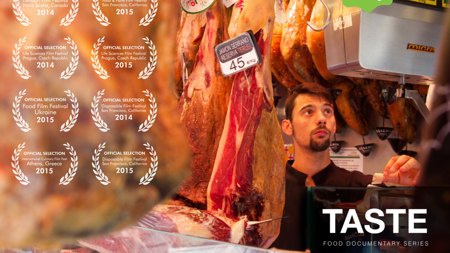 "Uncovering true stories of food entrepreneurs around the world. Successfully funded post-production of Part 1 -  ""TASTE: Europe"""