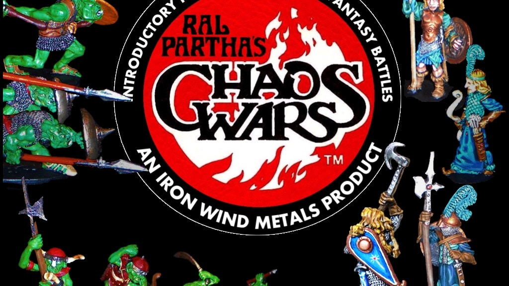 Ral Partha's Chaos Wars project video thumbnail