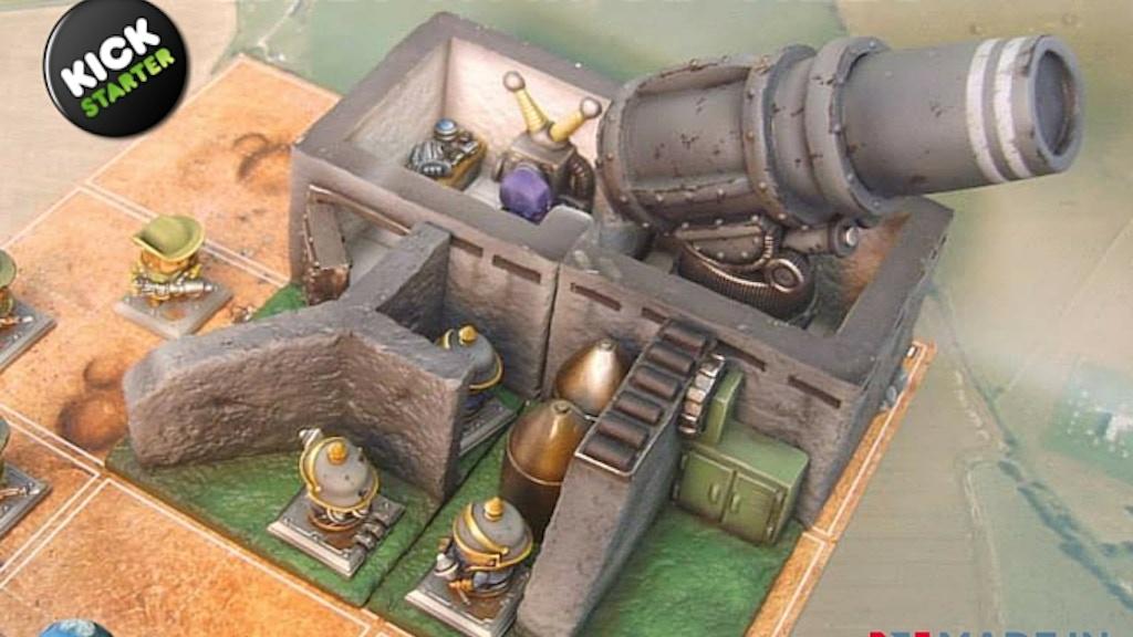 Chibi War 3D tiles project video thumbnail