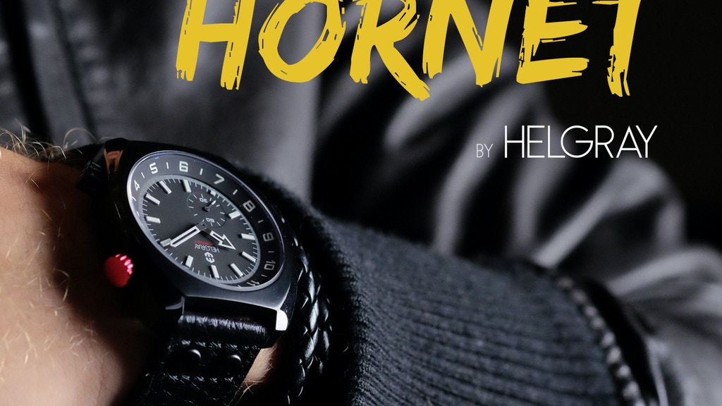 Helgray Hornet - All-Around Badass Watch with Dual Time Zone project video thumbnail