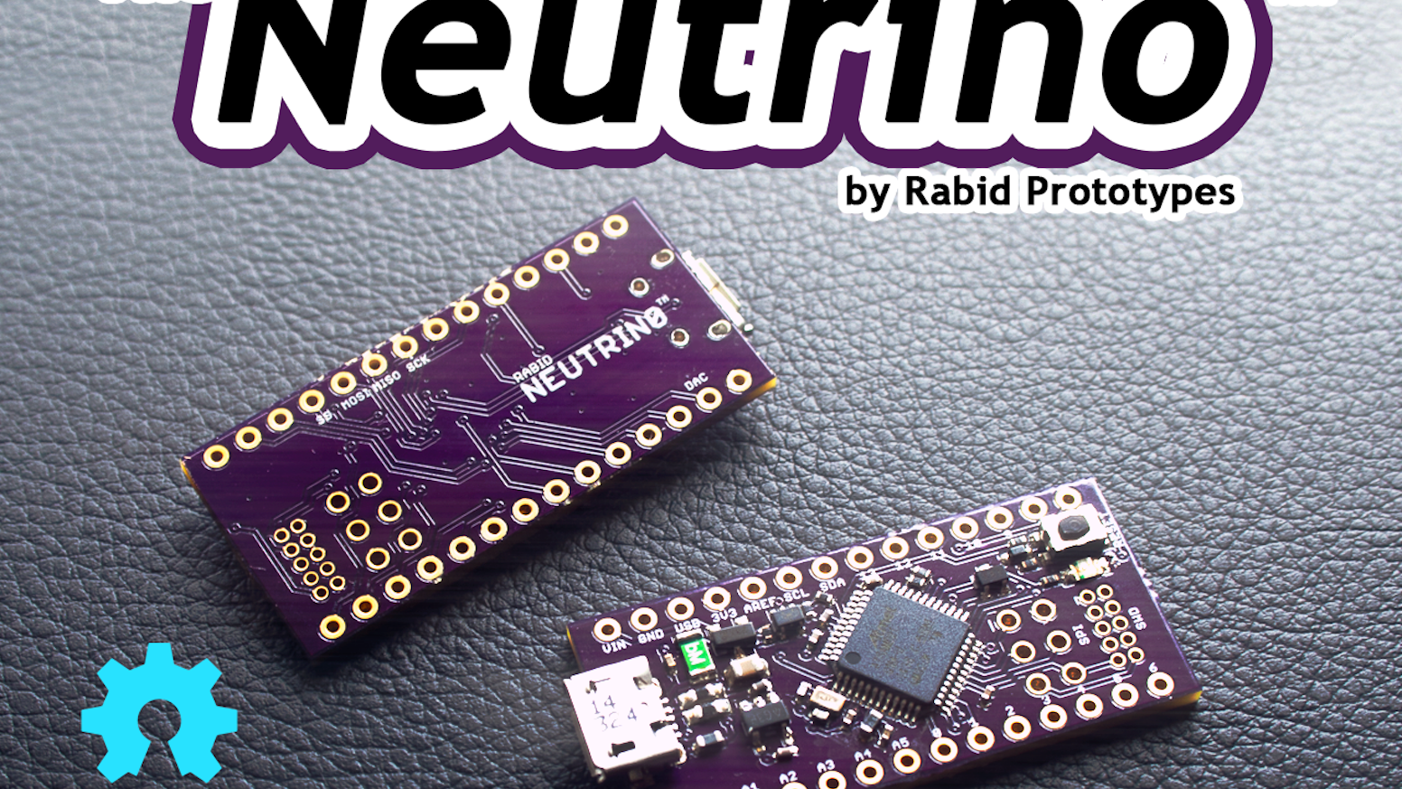 Featuring a 32-bit 48MHz ARM Cortex M0+ processor, the Neutrino is fully compatible with the Arduino Zero!