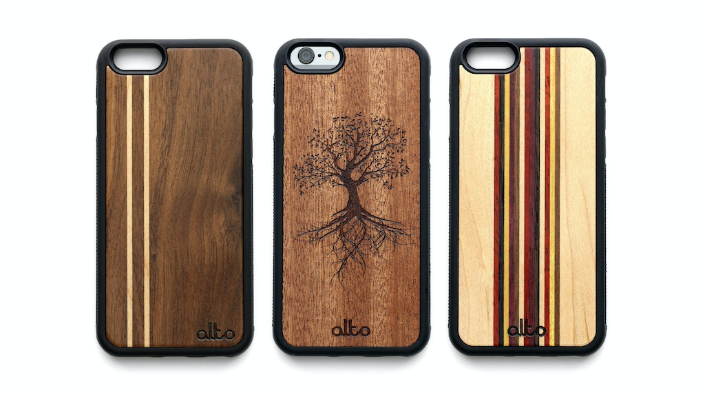 Premium Wood Phone Cases - for iPhone and Samsung project video thumbnail