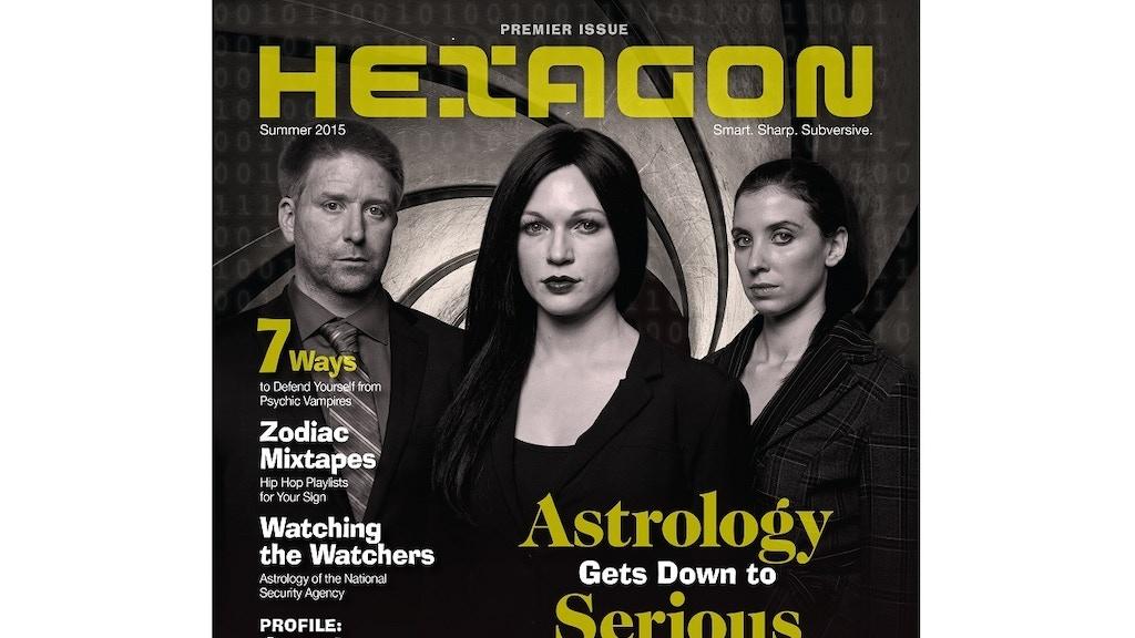 Hexagon Astrology Magazine project video thumbnail