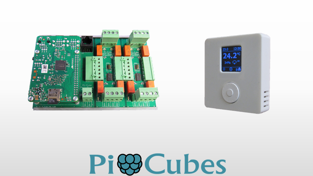 Pi Cubes - Raspberry Pi Based HVAC Automation System project video thumbnail
