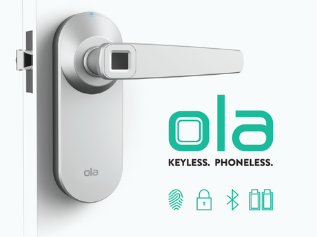 Ola fingerprint smart lock. Open the door to the future. by Ola ...