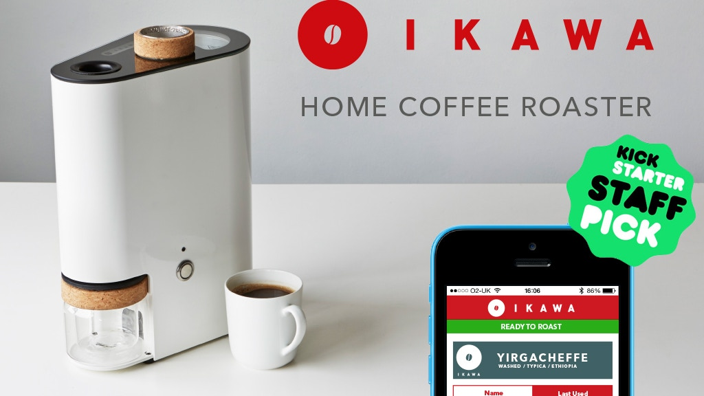 IKAWA | Home Coffee Roaster project video thumbnail