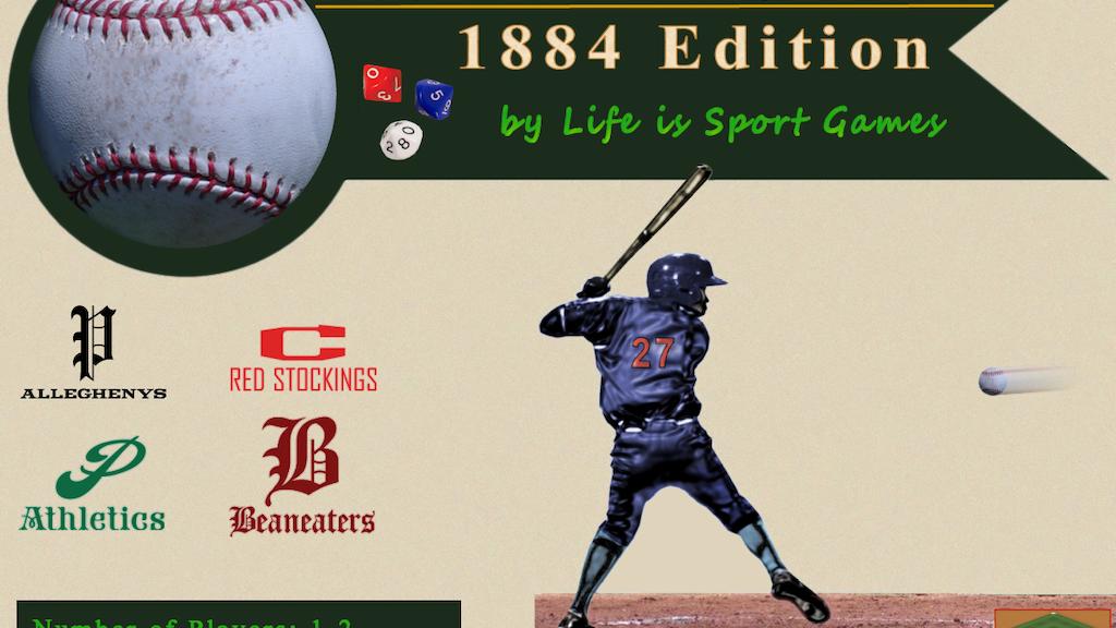 Pine Tar Baseball 1884: Dice Simulation of a Classic Season project video thumbnail