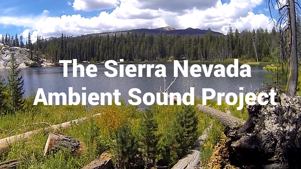 The Sierra Nevada Ambient Sound Project project video thumbnail