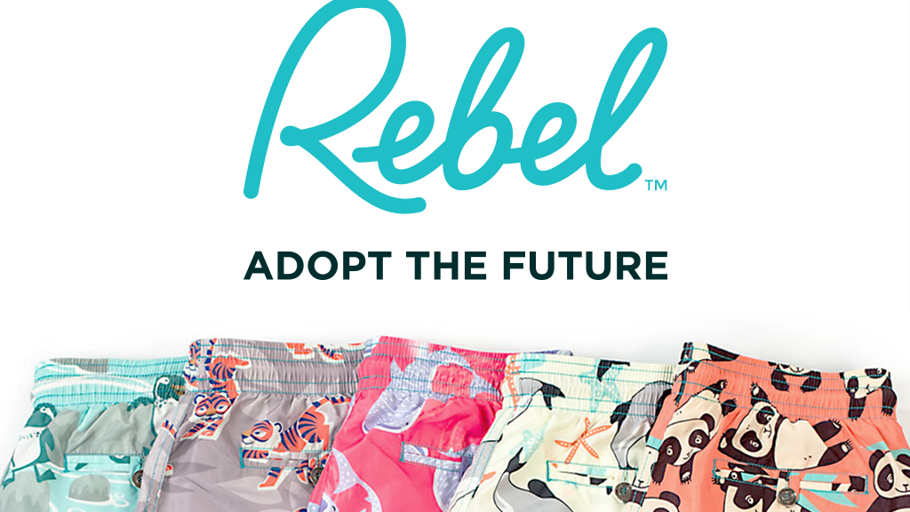 Rebel Swim - Men's swim shorts, designed with a purpose! project video thumbnail