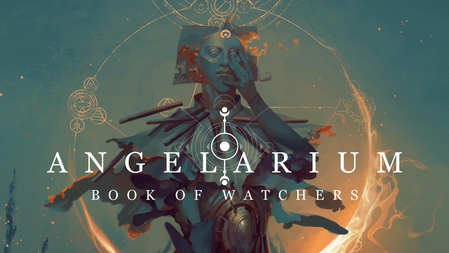 angelarium book of watchers by peter mohrbacher eistibus angel