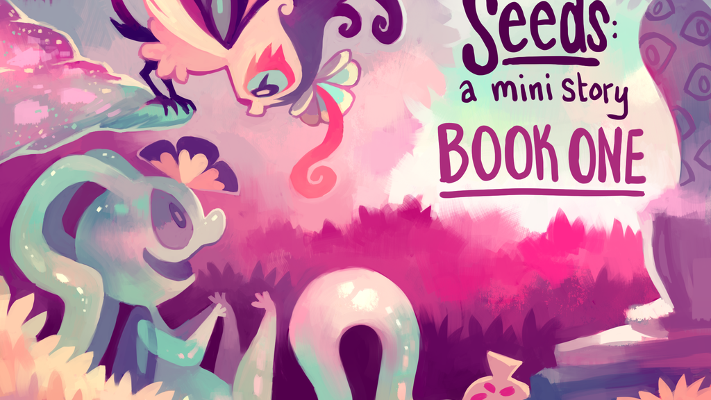 Floraverse - Seeds: A Mini Story, bringing Book One to Print project video thumbnail