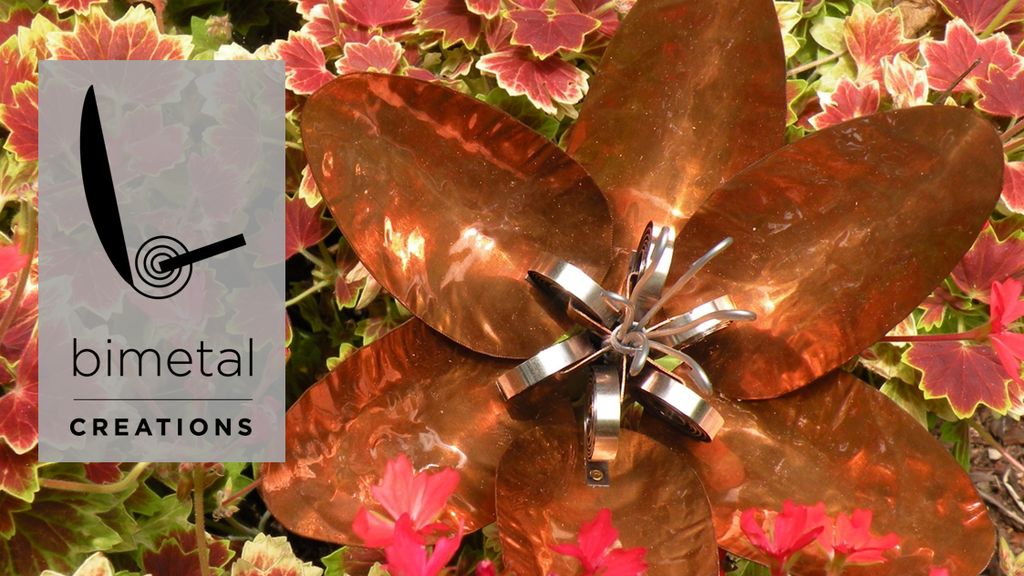 Metal Flowers That Open and Close With Temperature Change project video thumbnail