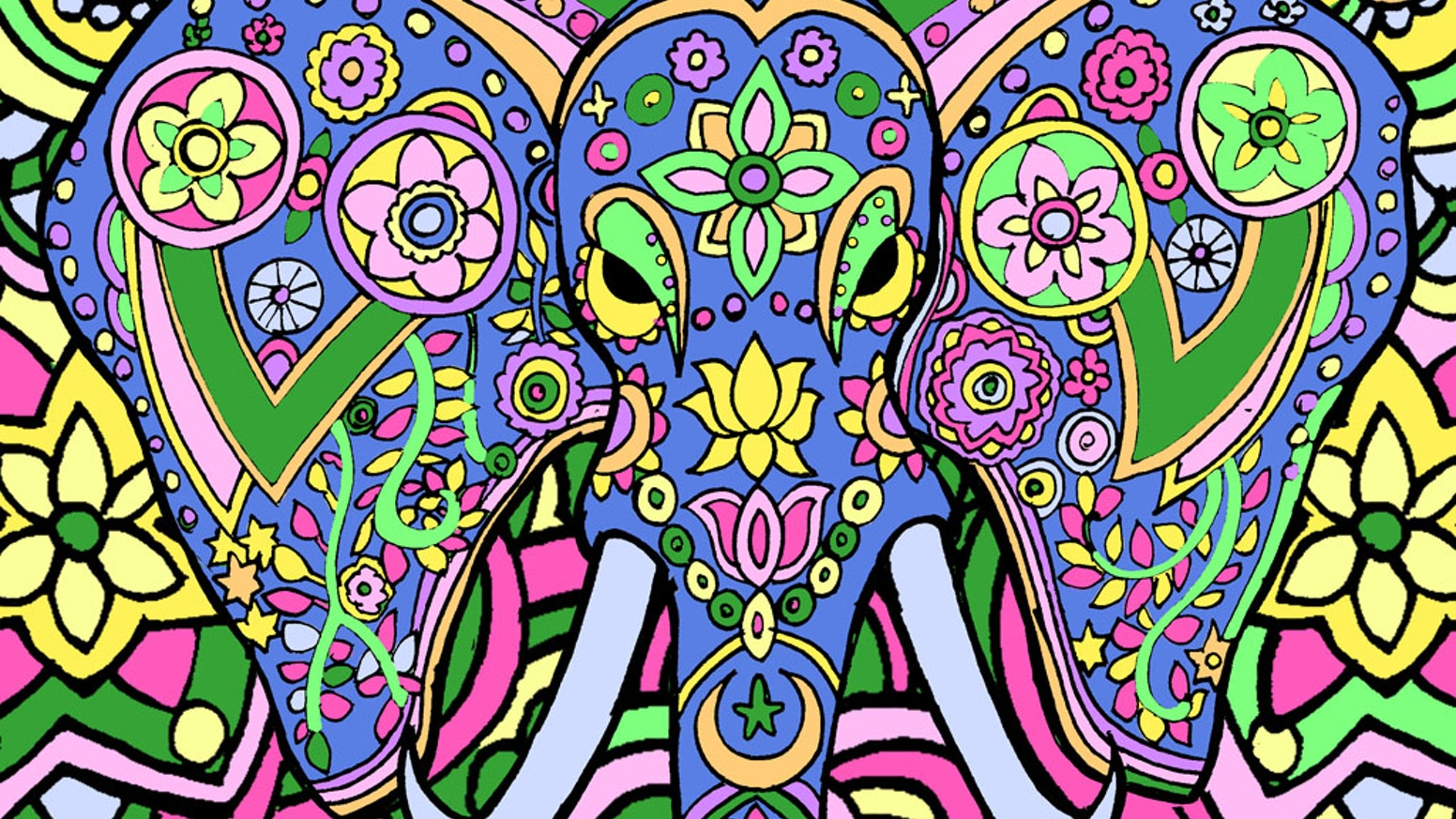 Animal Dreamers-Art Therapy Coloring Book For All Ages by Daniel de ...