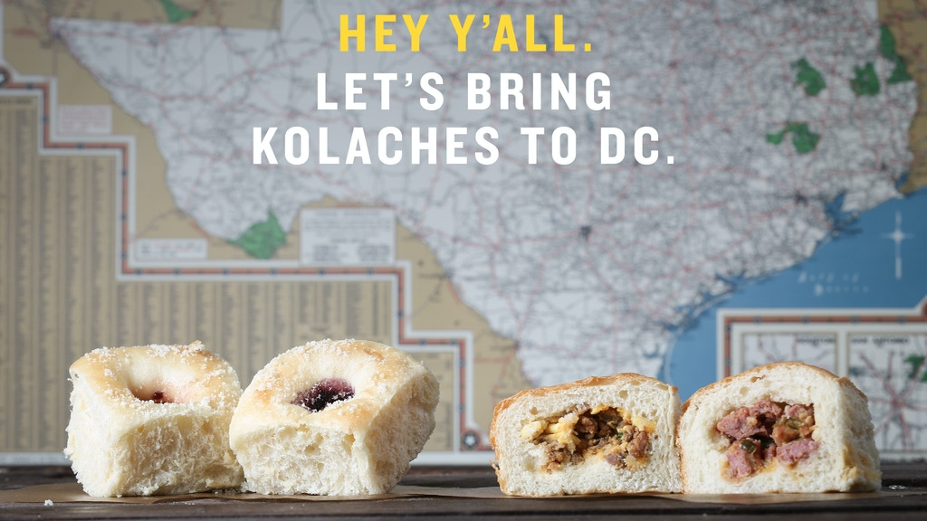 KOLACHES: Help Us Bring the 'National Pastry of Texas' to DC project video thumbnail